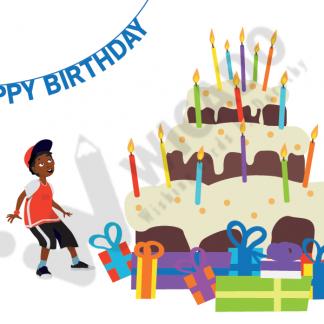Verjaardagskaarten Voor Donkere Kinderen Afrocards Wicado